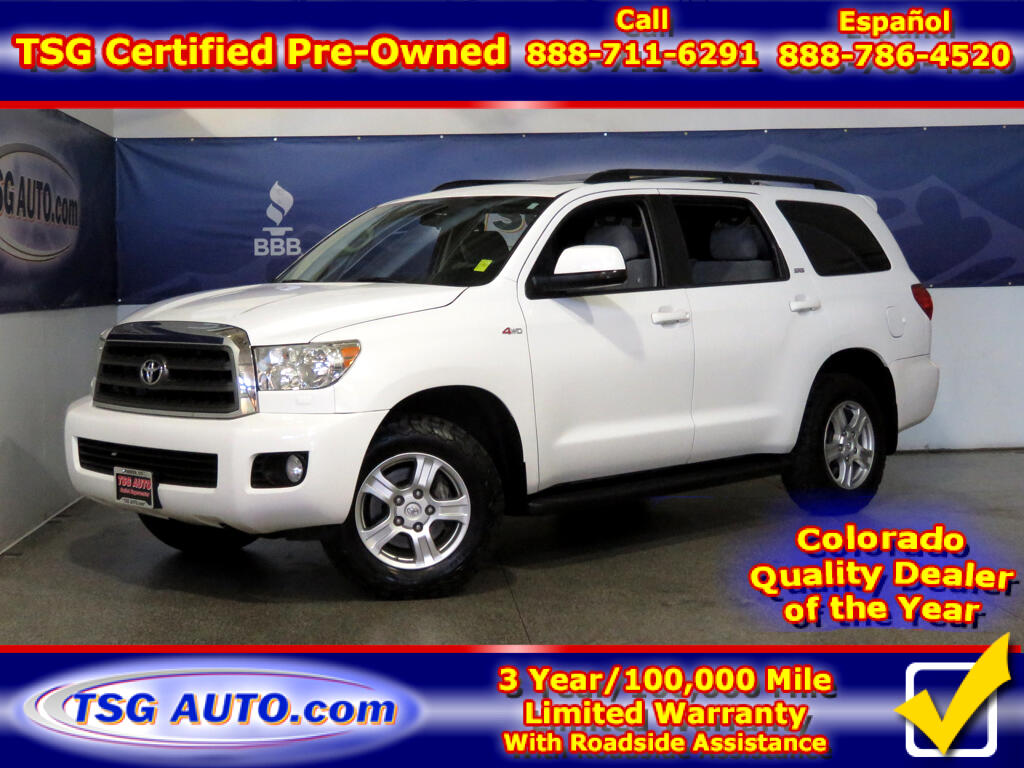 2014 Toyota Sequoia SR5 5.7L V8 4WD W/ThirdRow