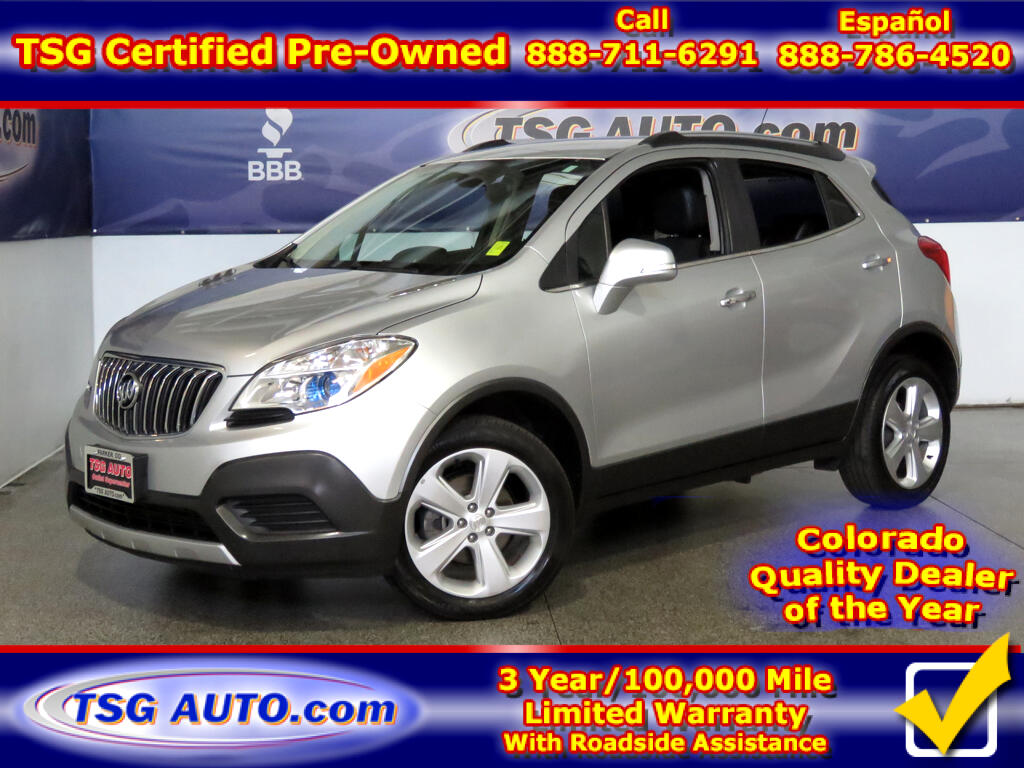 2015 Buick Encore 1.4L I4 Turbo AWD