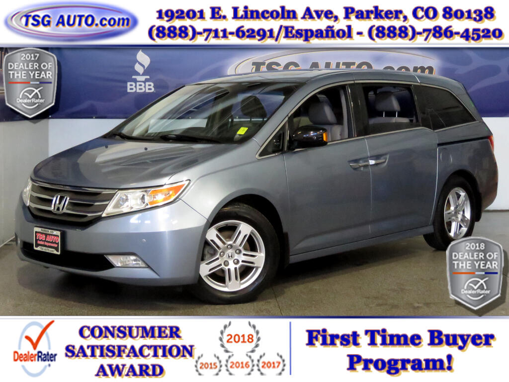 2011 Honda Odyssey Touring 3.5L V6 W/NAV Leather SunRoof