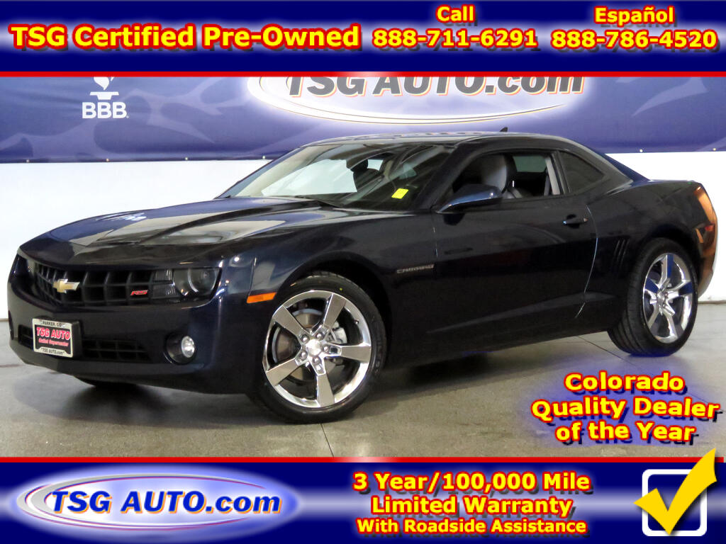 2011 Chevrolet Camaro RS 3.6L V6 W/Leather