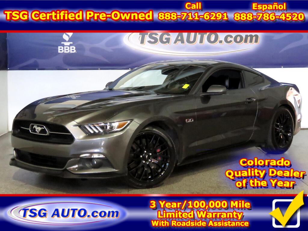 2015 Ford Mustang GT 50 Years Edition 5.0L V8 W/NAV Leather