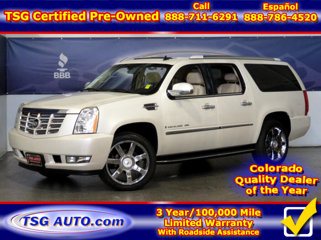 2007 Cadillac Escalade ESV ESV 6.2L V8 AWD W/Leather SunRoof ThirdRow