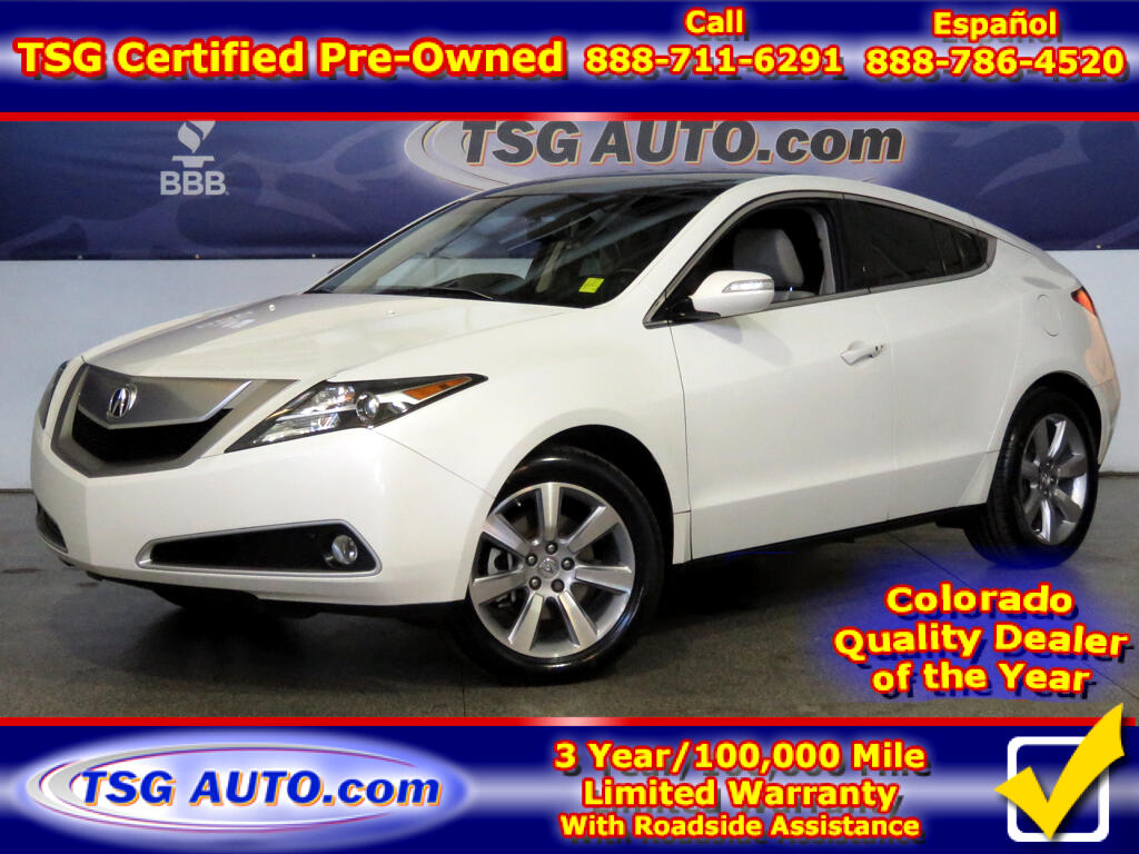 2012 Acura ZDX Tech 3.7L V6 AWD W/NAV Leather SunRoof