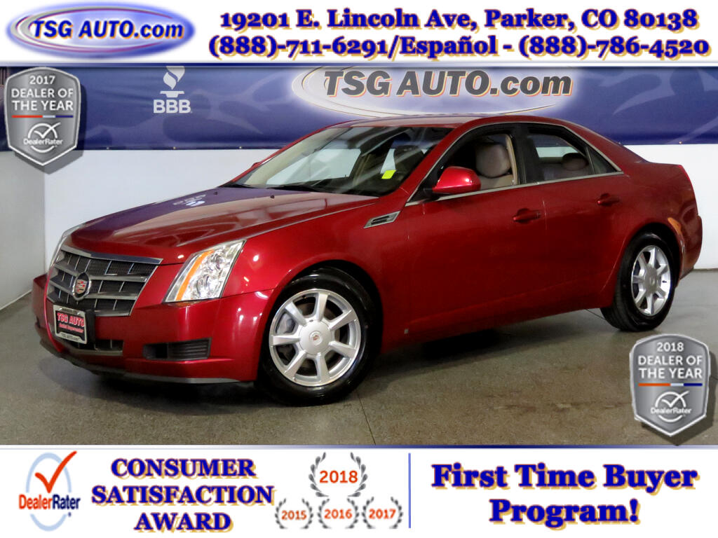 2009 Cadillac CTS CTS4 3.6L V6 AWD W/Leather
