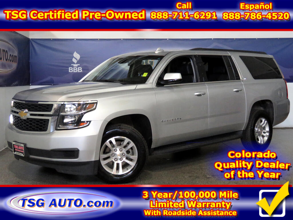 2018 Chevrolet Suburban LT 5.3L V8 4WD W/Leather SunRoof ThirdRow
