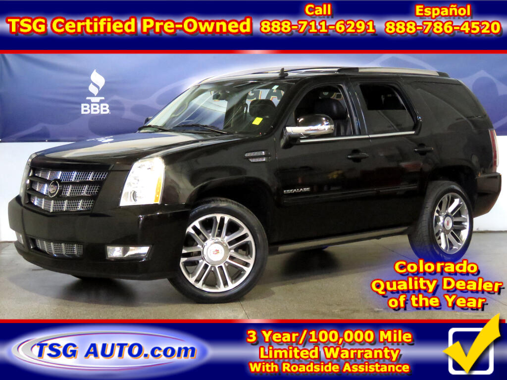 2012 Cadillac Escalade Premium 6.2L V8 AWD W/NAV Leather SunRoof