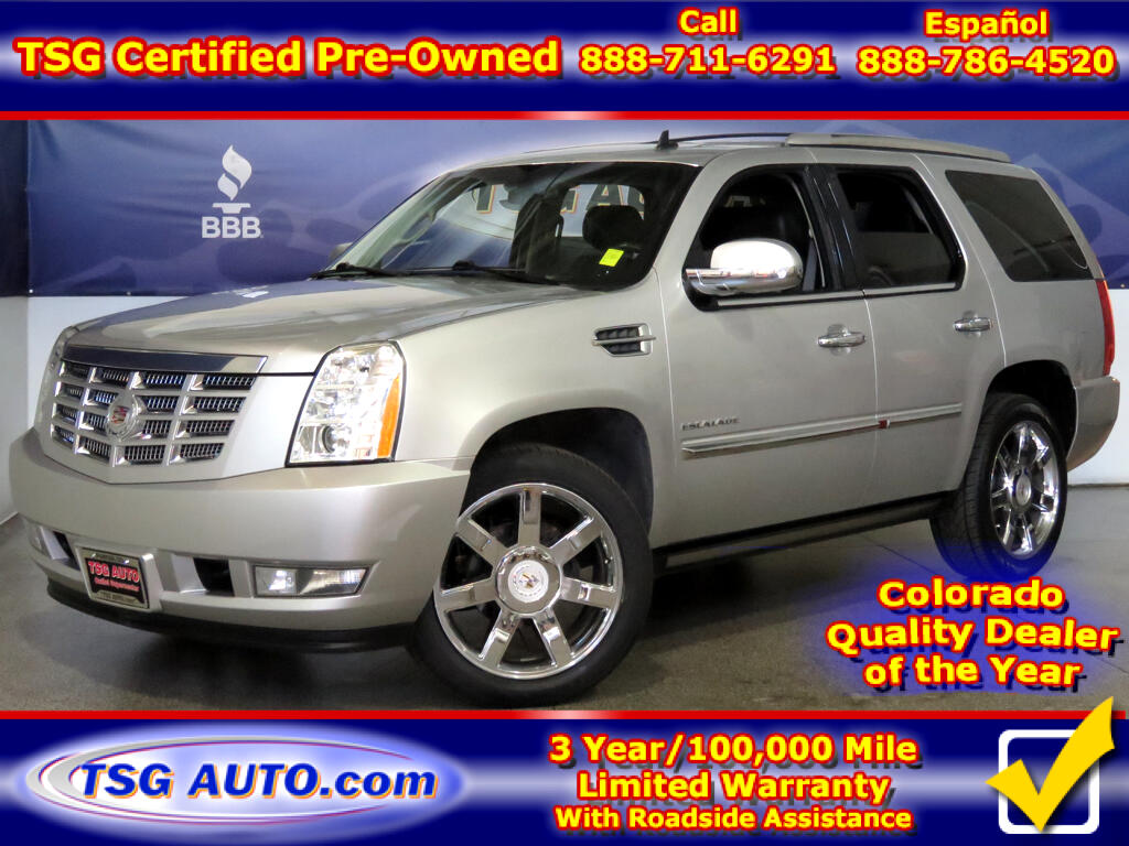 2011 Cadillac Escalade Premium 6.2L V8 AWD W/NAV Leather SunRoof