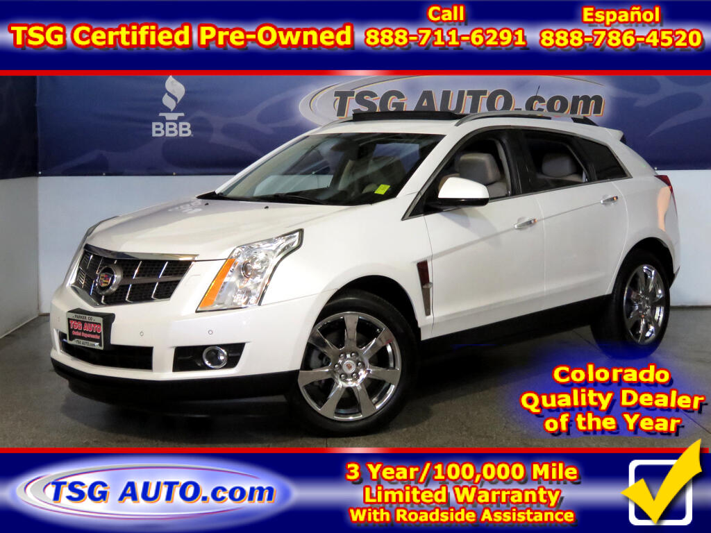 2012 Cadillac SRX Performance 3.6L V6 AWD W/Leather
