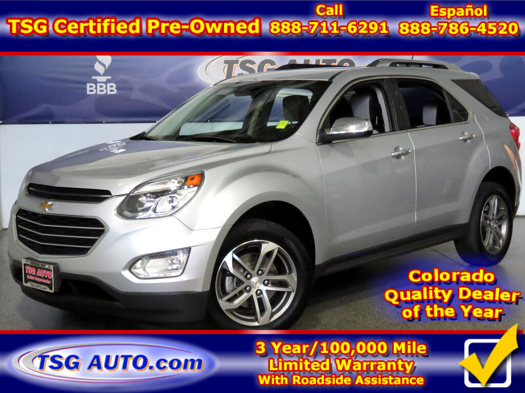 2016 Chevrolet Equinox LTZ 2.4L I4 W/Leather