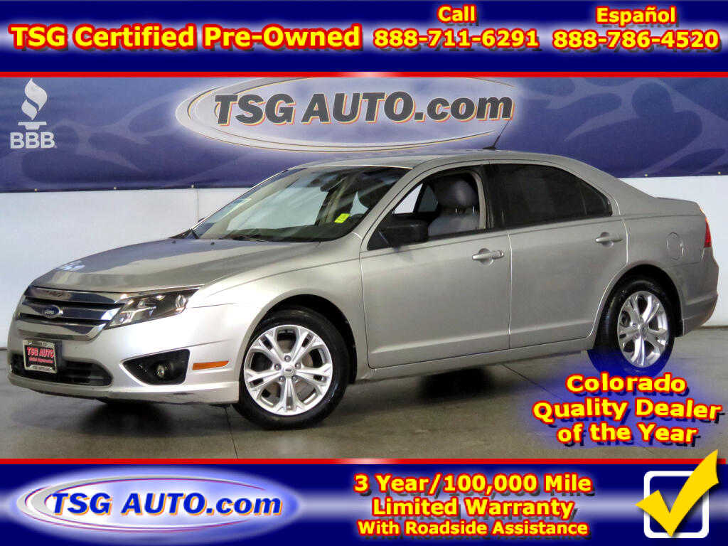 2012 Ford Fusion S 2.5L I4