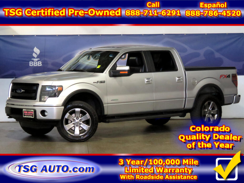 2013 Ford F-150 FX4 SuperCrew 3.5L V6 Turbo 4WD W/NAV