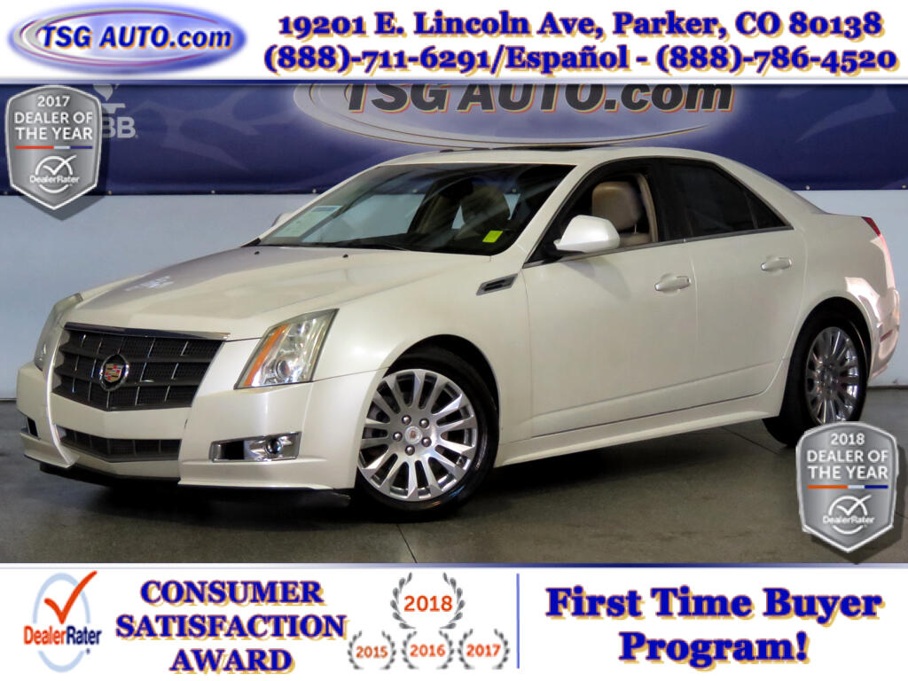 2010 Cadillac CTS Premium 3.6L V6 AWD W/Leather SunRoof