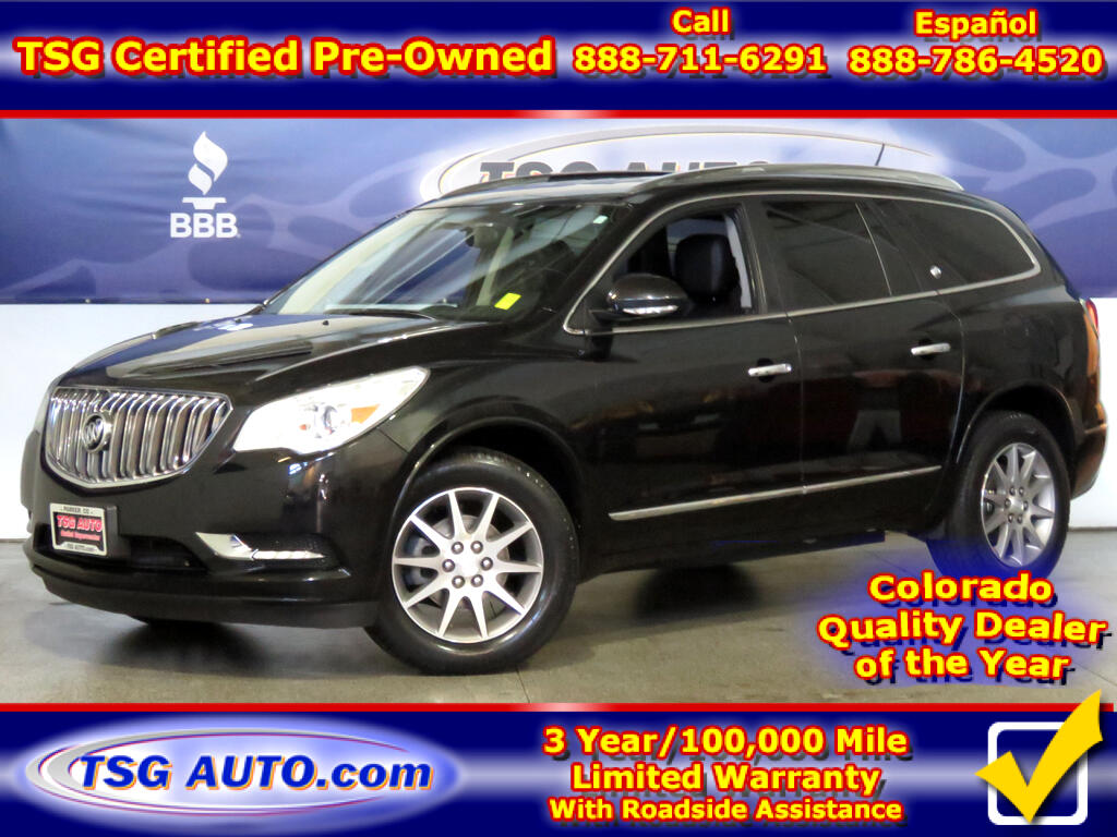 2014 Buick Enclave 3.6L V6 AWD W/Leather ThirdRow