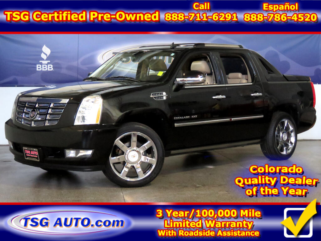 2011 Cadillac Escalade EXT Premium 6.2L V8 AWD W/NAV Leather SunRoof
