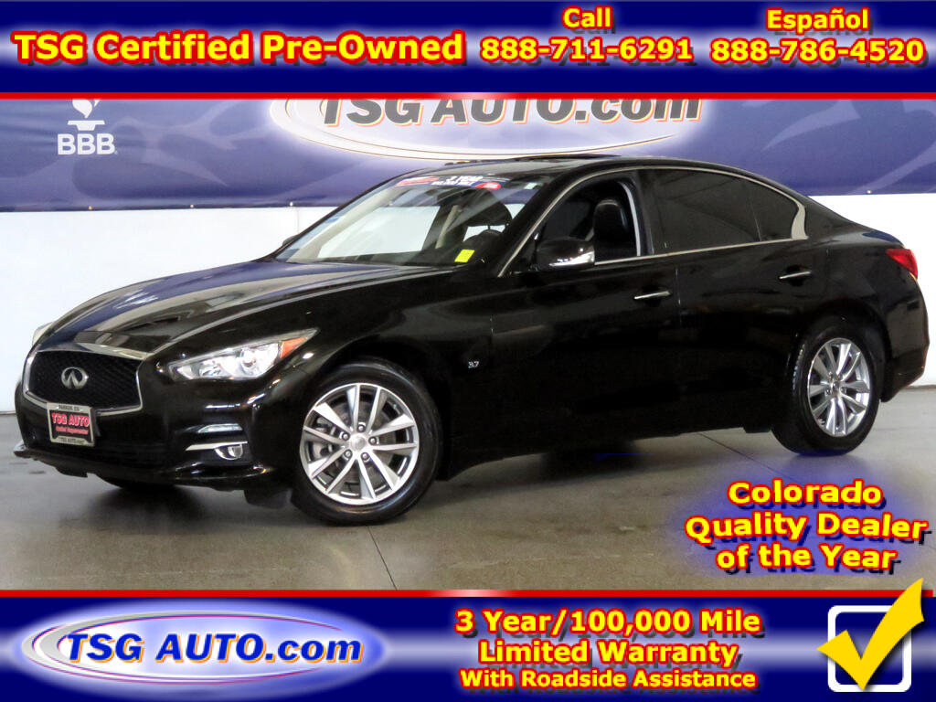 2015 Infiniti Q50 3.7L V6 AWD W/Leather SunRoof