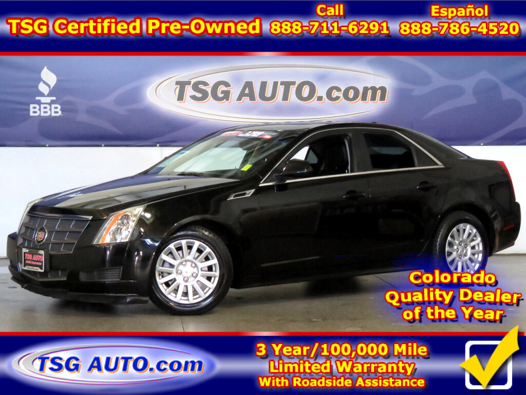 2011 Cadillac CTS 3.0L V6 AWD W/Leather SunRoof