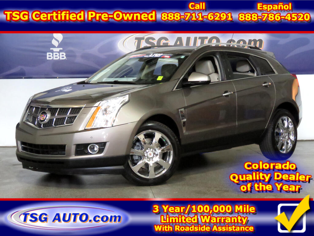 2012 Cadillac SRX Performance 3.6L V6 AWD W/NAV Leather