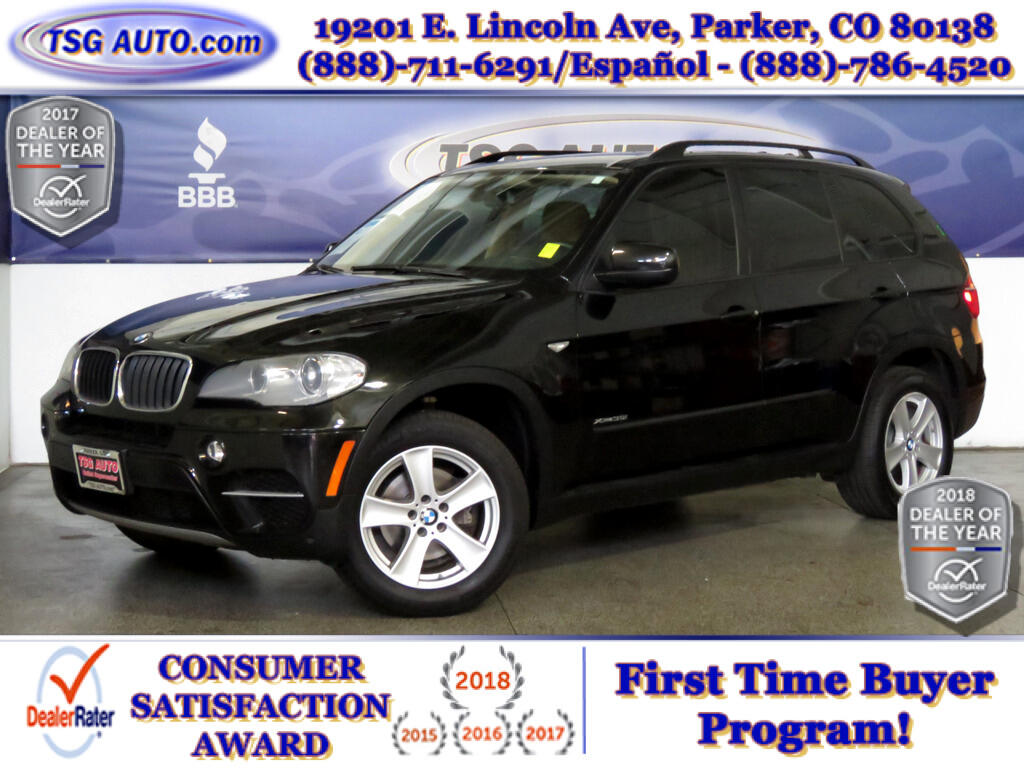 2012 BMW X5 35i 3.0L I6 Turbo AWD W/Leather