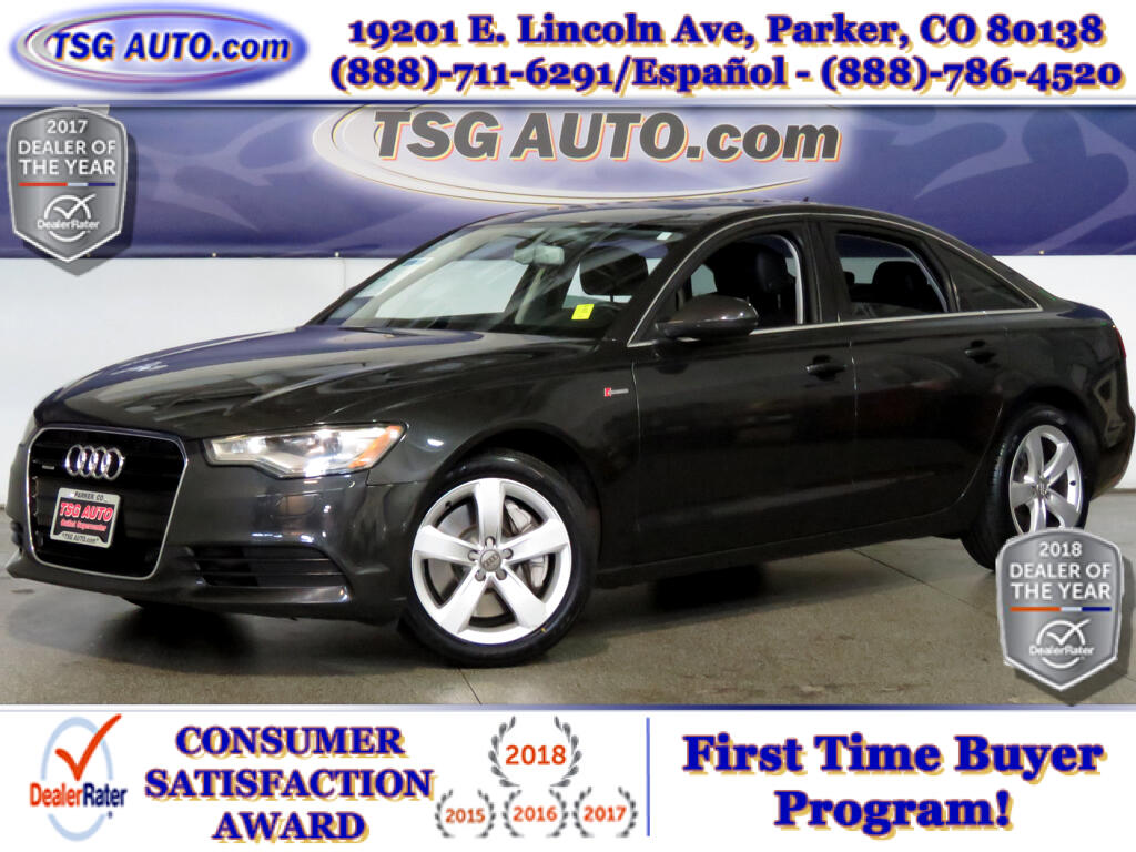 2012 Audi A6 Premium Plus 3.0L V6 Supercharged AWD