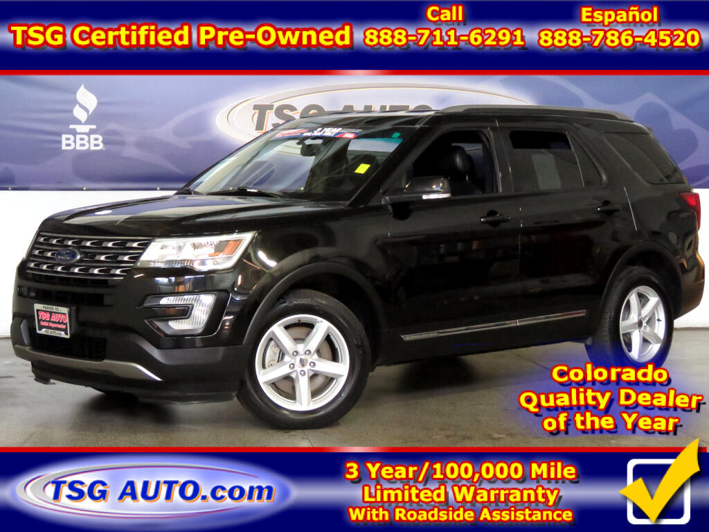 2017 Ford Explorer XLT 3.5L V6 4WD W/Leather ThirdRow