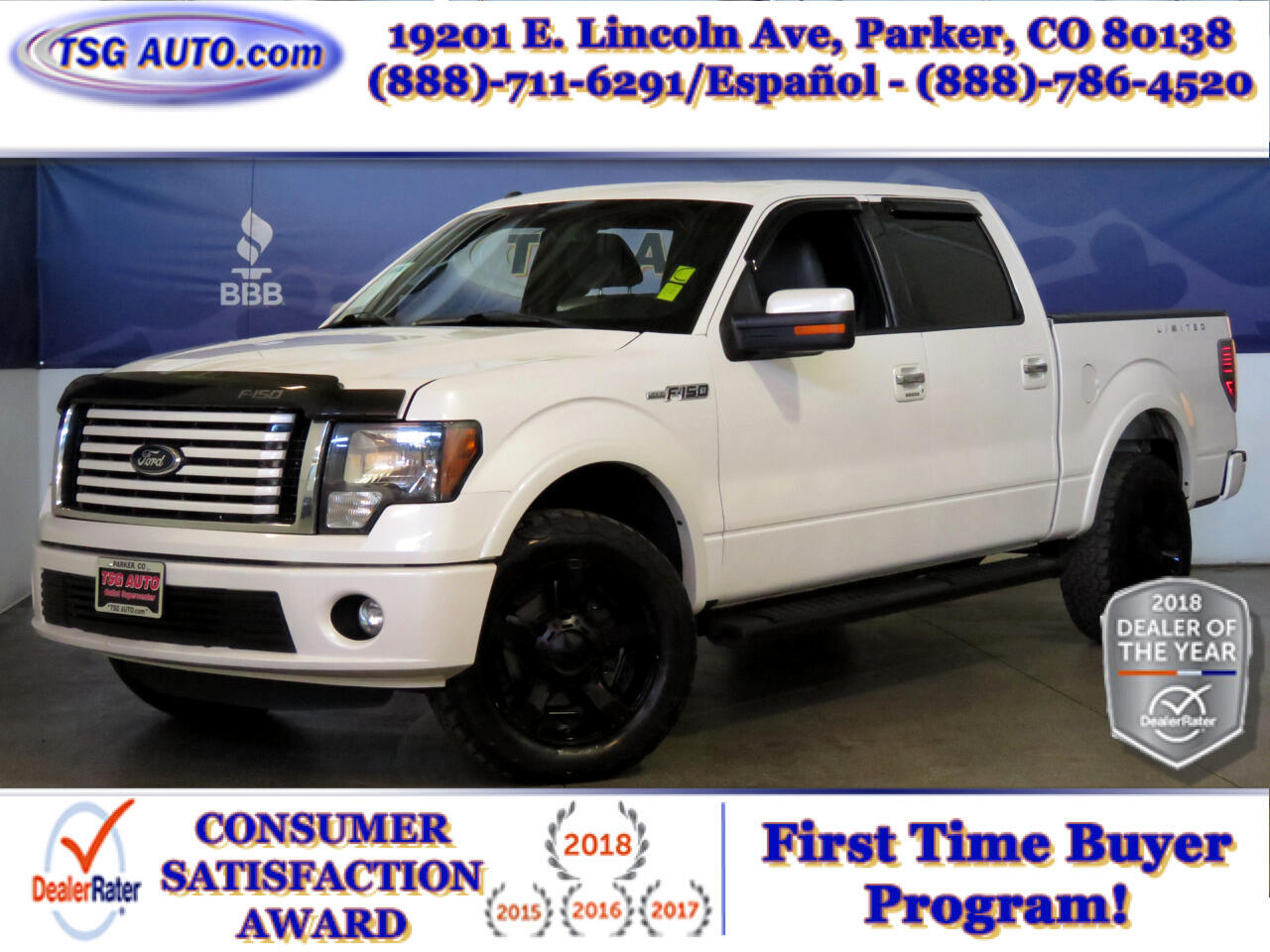 2011 Ford F-150 Larriat Limited SuperCrew 4WD