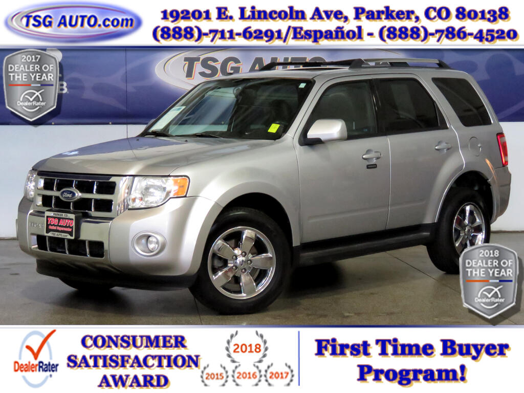 2010 Ford Escape Limited 3.0L V6 AWD W/Leather SunRoof