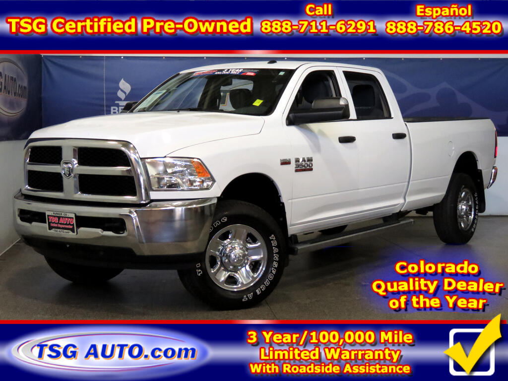2017 RAM 3500 ST Crew Cab 6.4L V8 4WD Long Bed