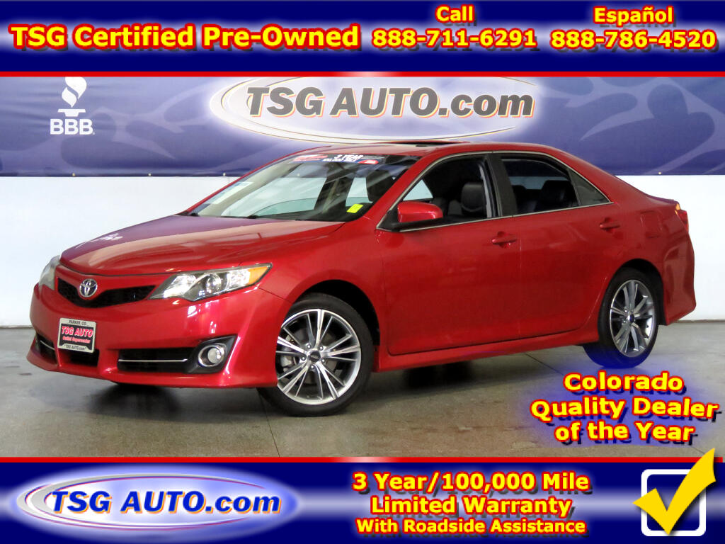 2014 Toyota Camry SE 2.5L I4 W/Leather SunRoof