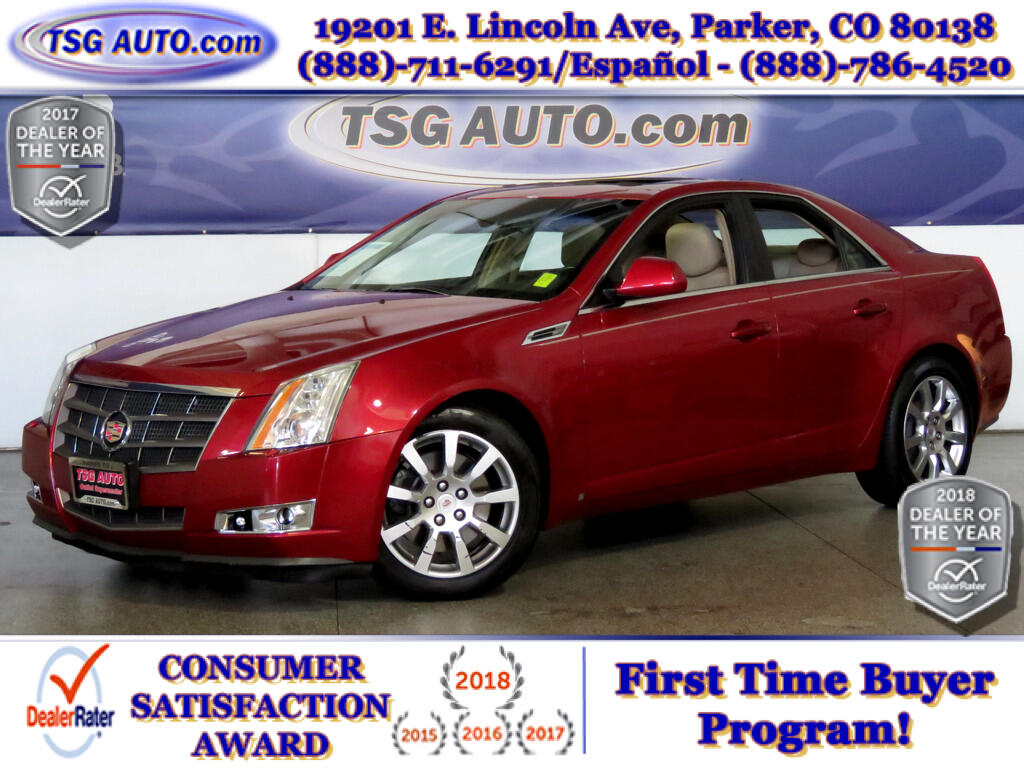 2008 Cadillac CTS High feature 3.6L V6 AWD W/NAV Leather