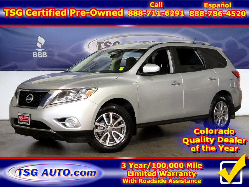 2016 Nissan Pathfinder S 3.5L V6 4WD W/ThirdRow