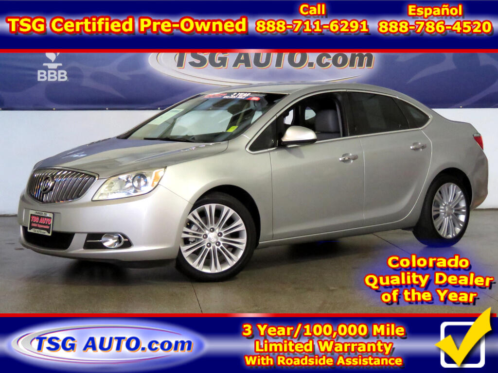 2014 Buick Verano 2.4L I4 W/Leather