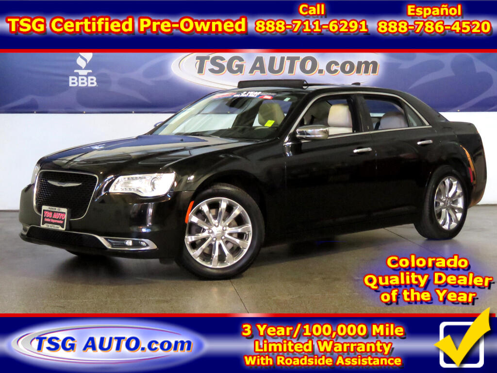 2017 Chrysler 300 C 3.6L V6 AWD W/NAV Leather Panoramic SunRoof