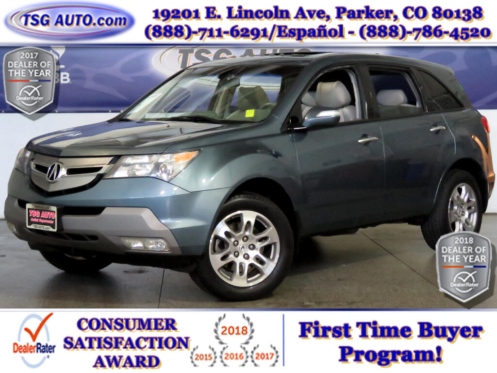 2008 Acura MDX Tech 3.7L V6 AWD W/NAV Leather SunRoof
