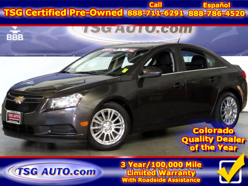 2014 Chevrolet Cruze 1.4L I4 Turbo