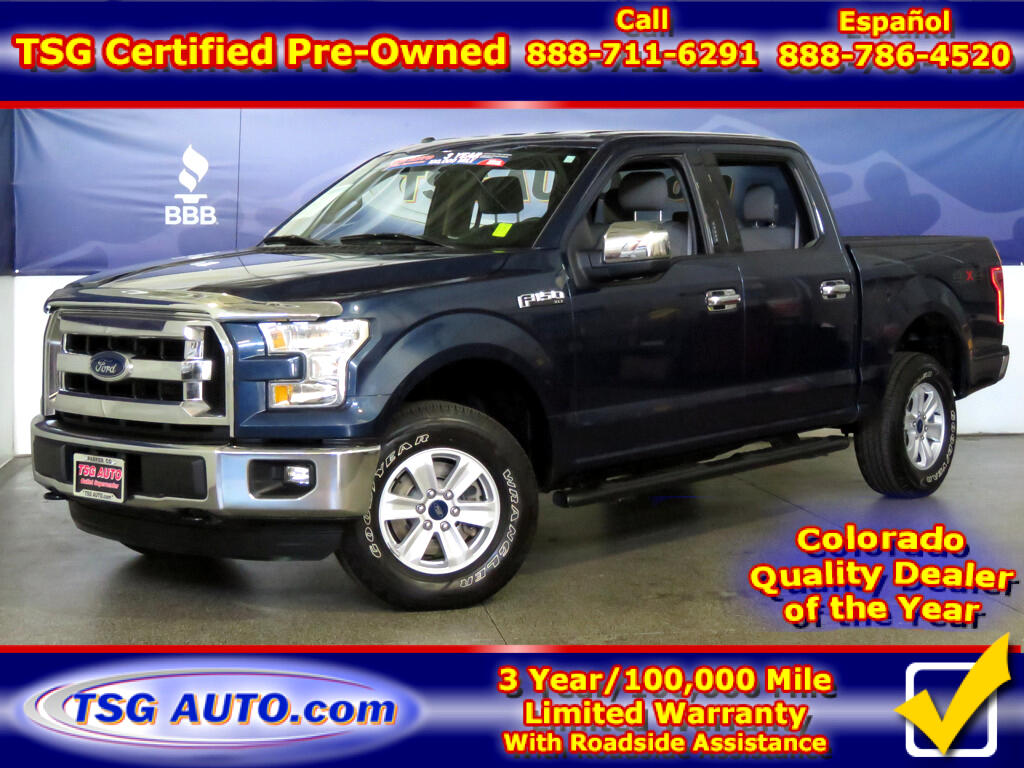 2016 Ford F-150 XLT SuperCrew 3.5L V6 4WD