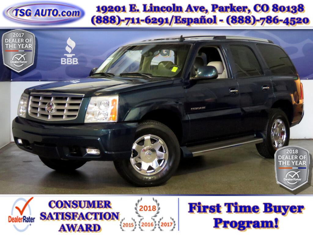 2006 Cadillac Escalade Luxury 6.0L V8 AWD W/Leather SunRoof