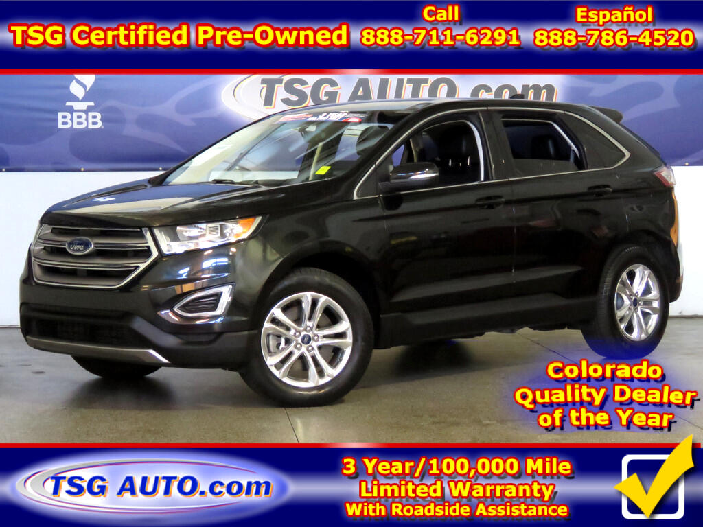 2015 Ford Edge SEL 2.0L I4 Turbo AWD W/Leather
