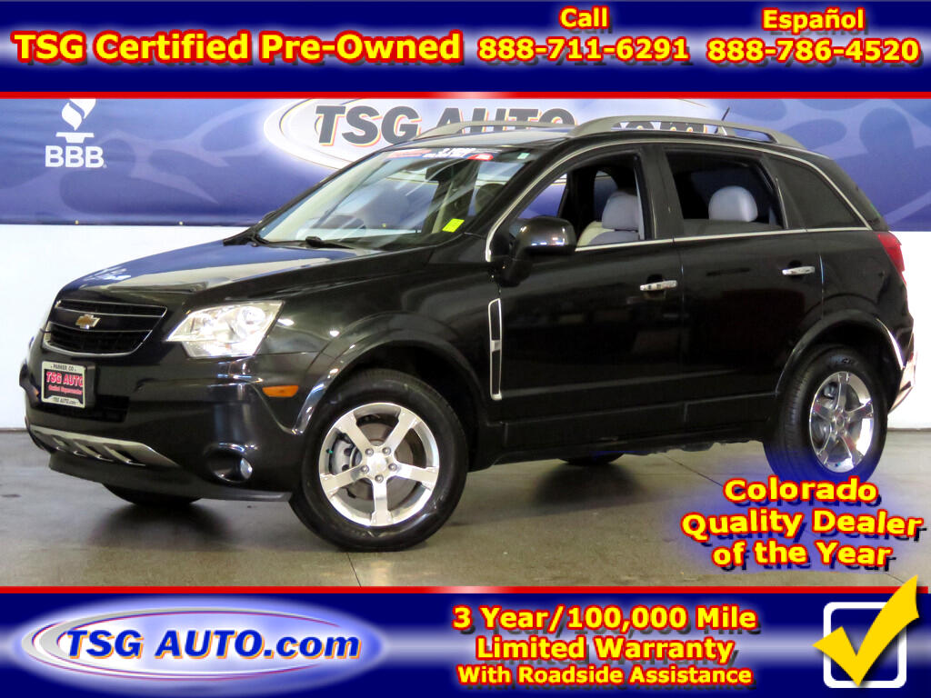 2012 Chevrolet Captiva LTZ 3.0L V6 AWD W/Leather