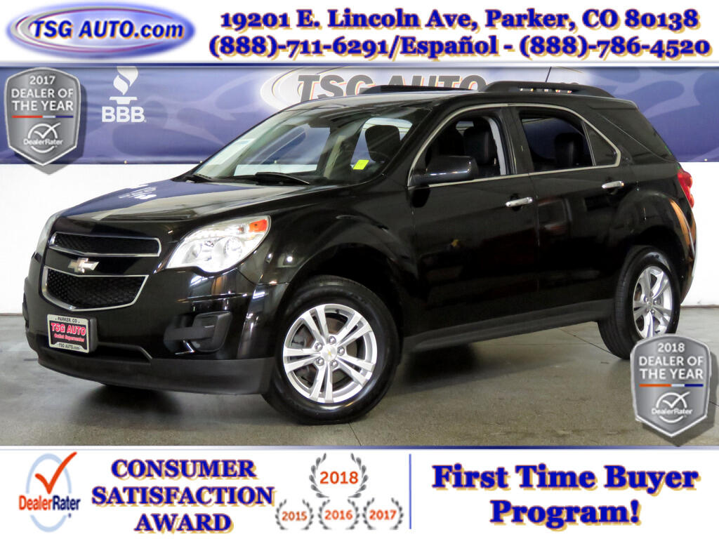 2014 Chevrolet Equinox LT 2.4L I4 AWD W/Leather