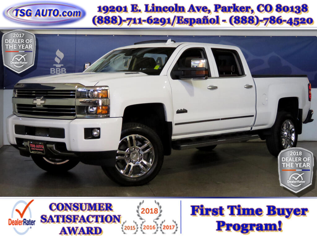 2015 Chevrolet Silverado 2500HD High Country Crew Cab 6.6L V8 Turbo Diesel 4WD