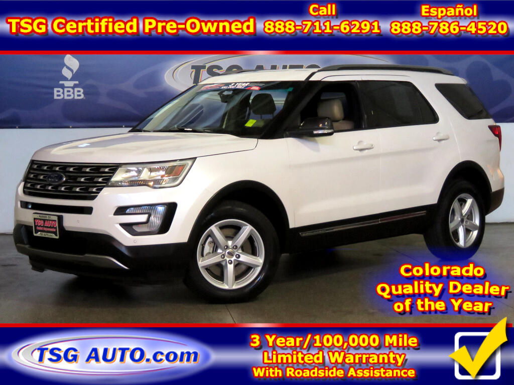 2017 Ford Explorer XLT 3.5L V6 W/Leather ThirdRow