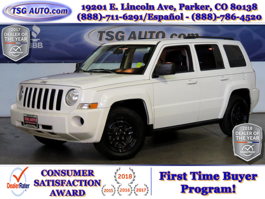 2010 Jeep Patriot Sport 2.4L I4 4WD