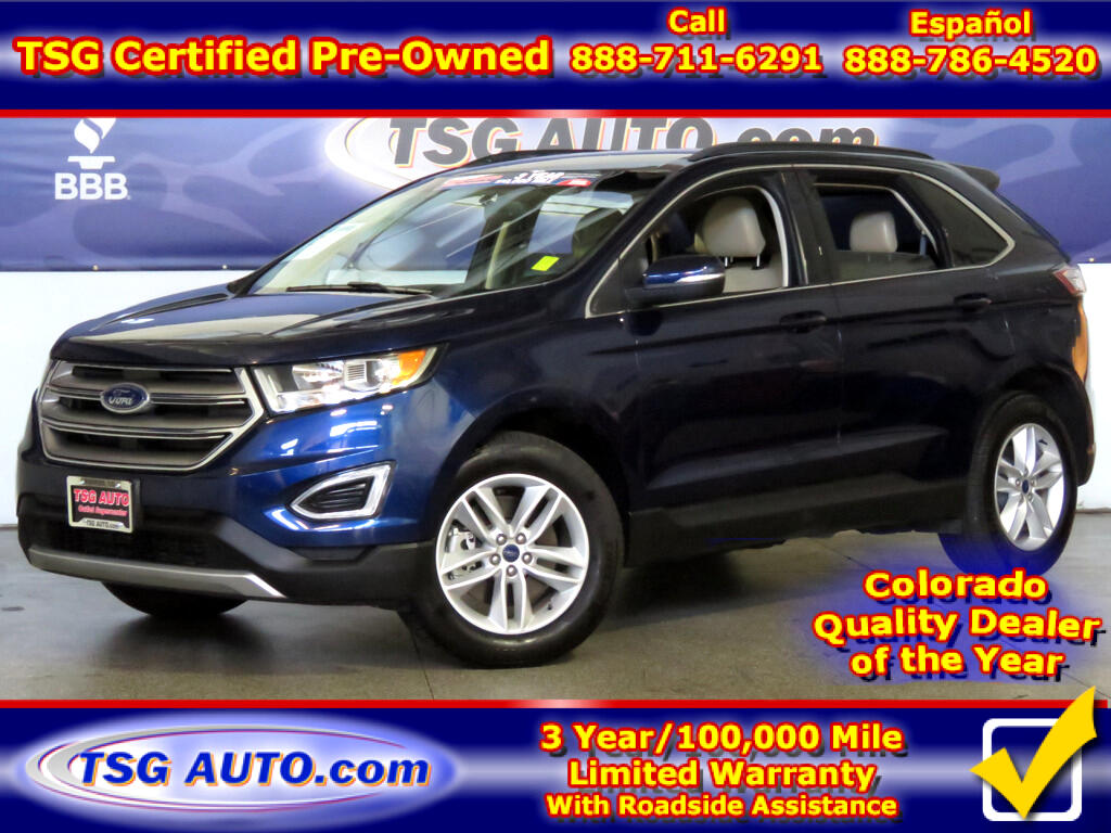 2016 Ford Edge SEL 2.0L I4 Turbo AWD W/NAV Leather