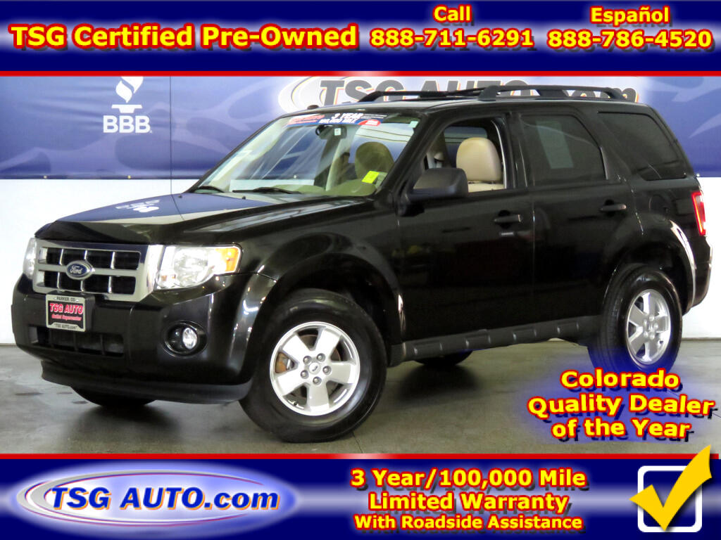 2011 Ford Escape XLT 3.0L V6 4WD W/Leather SunRoof