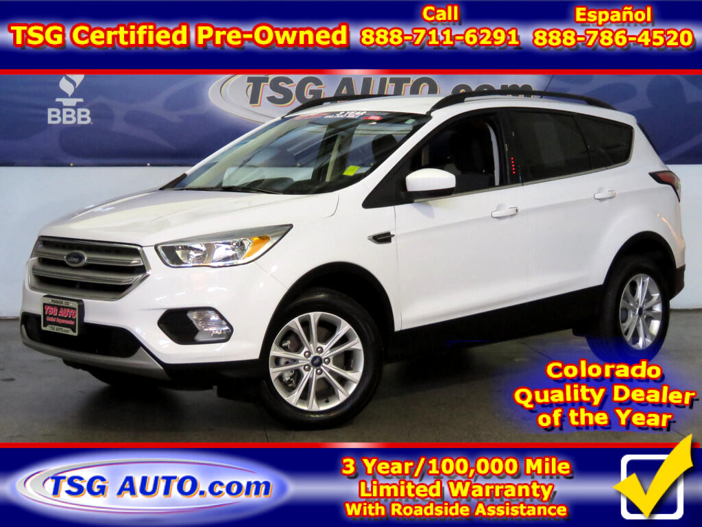 2018 Ford Escape SE 1.5L I4 Turbo 4WD