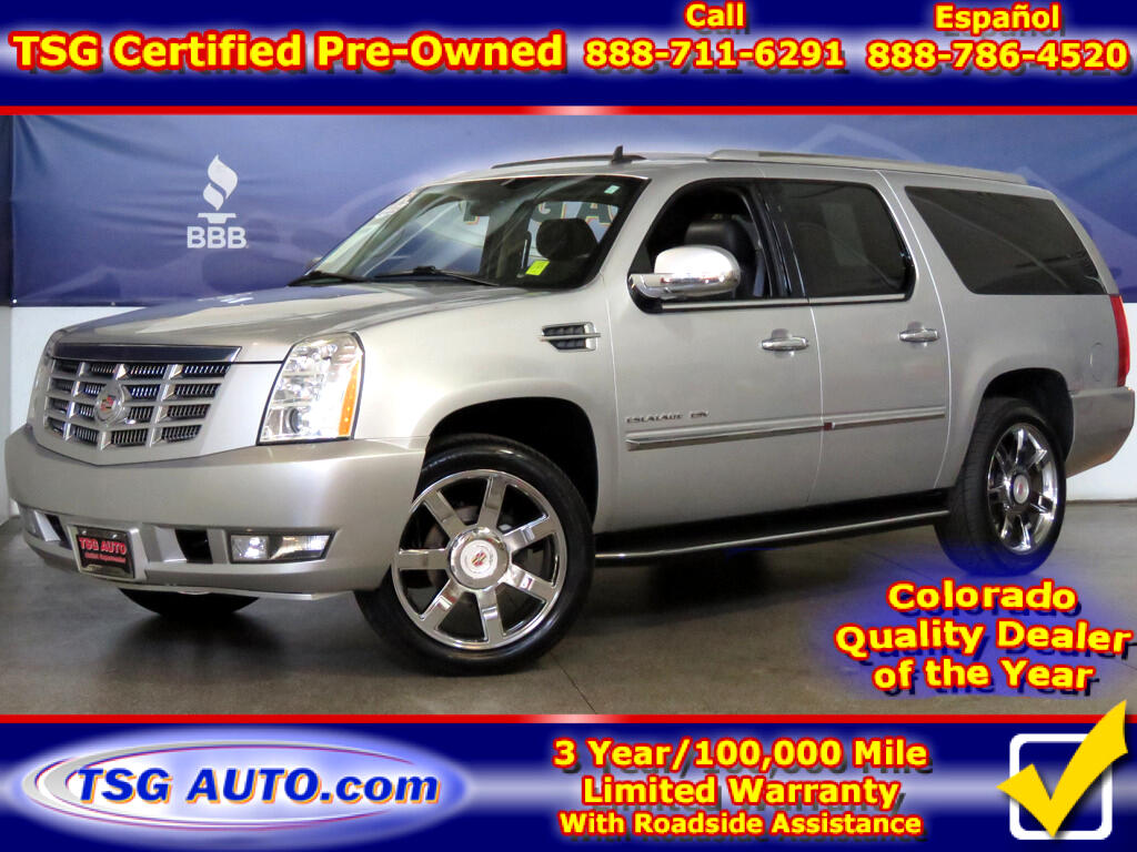 2014 Cadillac Escalade ESV Luxury 6.2L V8 AWD W/NAV Leather