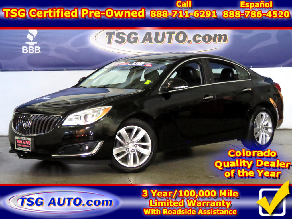 2014 Buick Regal Premium 2.0L I4 Turbo W/Leather