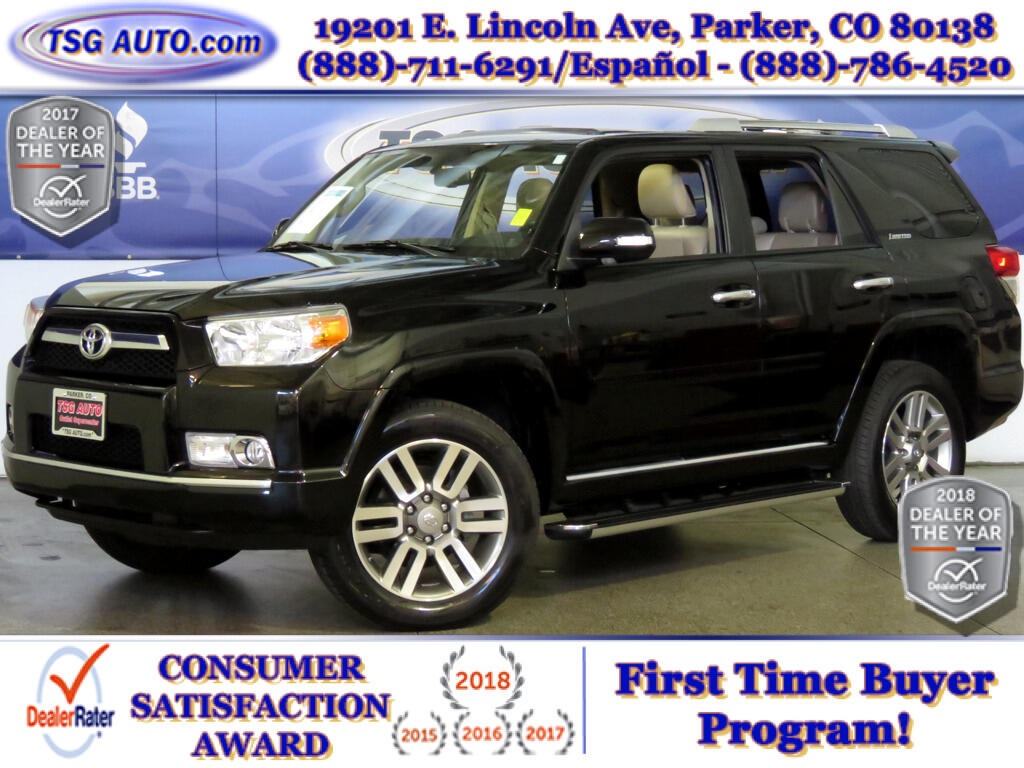 2011 Toyota 4Runner Limited 4.0L V6 4WD W/Leather SunRoof