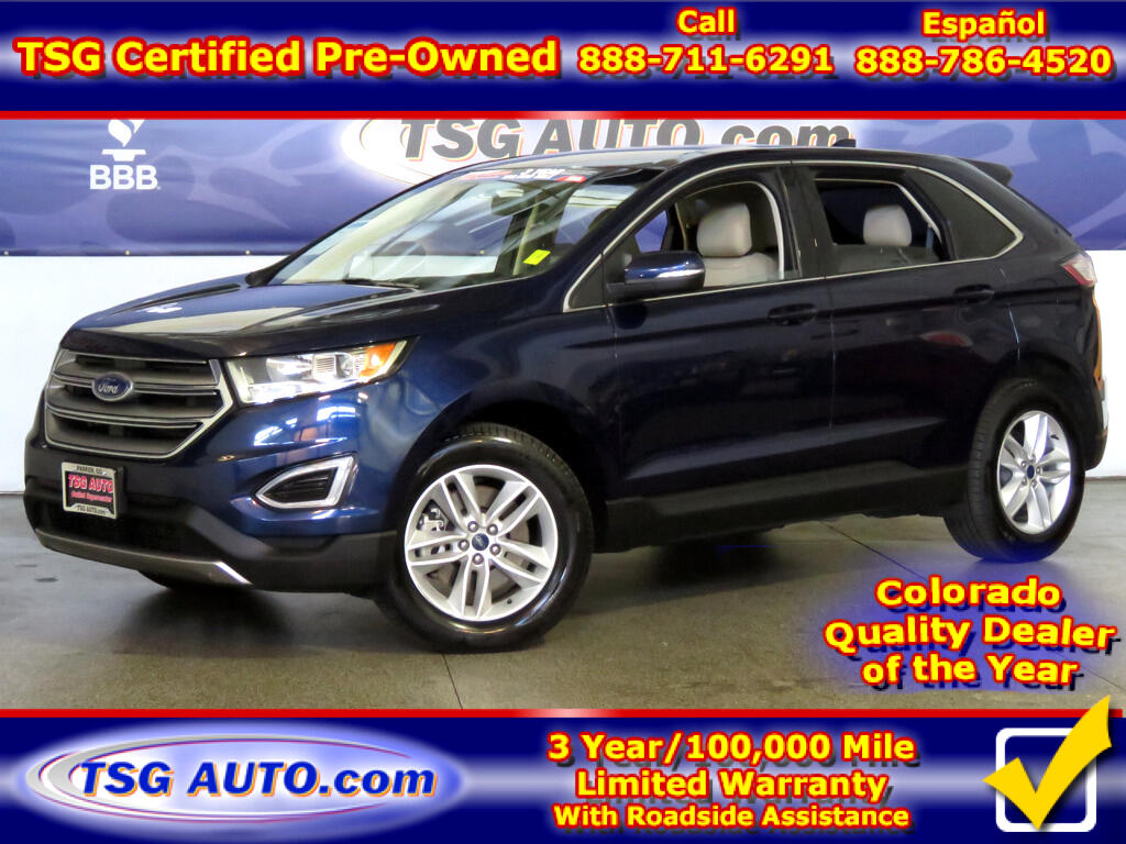 2016 Ford Edge SEL 2.0L I4 Turbo AWD