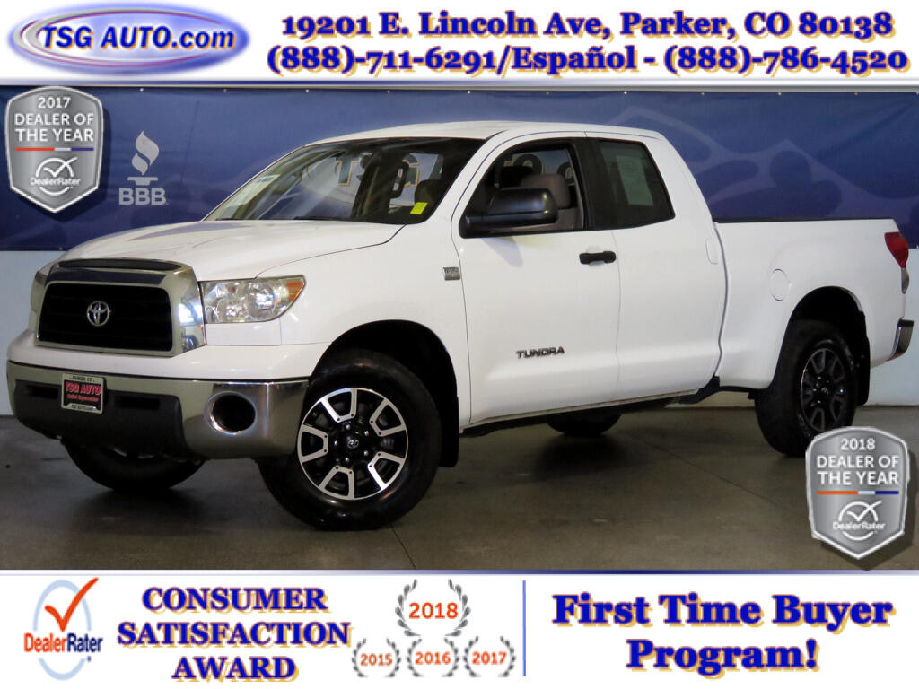 2008 Toyota Tundra 4WD Truck SR5 Double Cab 4.7L V8 4WD